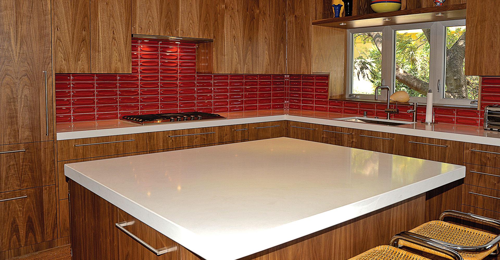 Retro Kitchen Fitucci Custom Cabinetry
