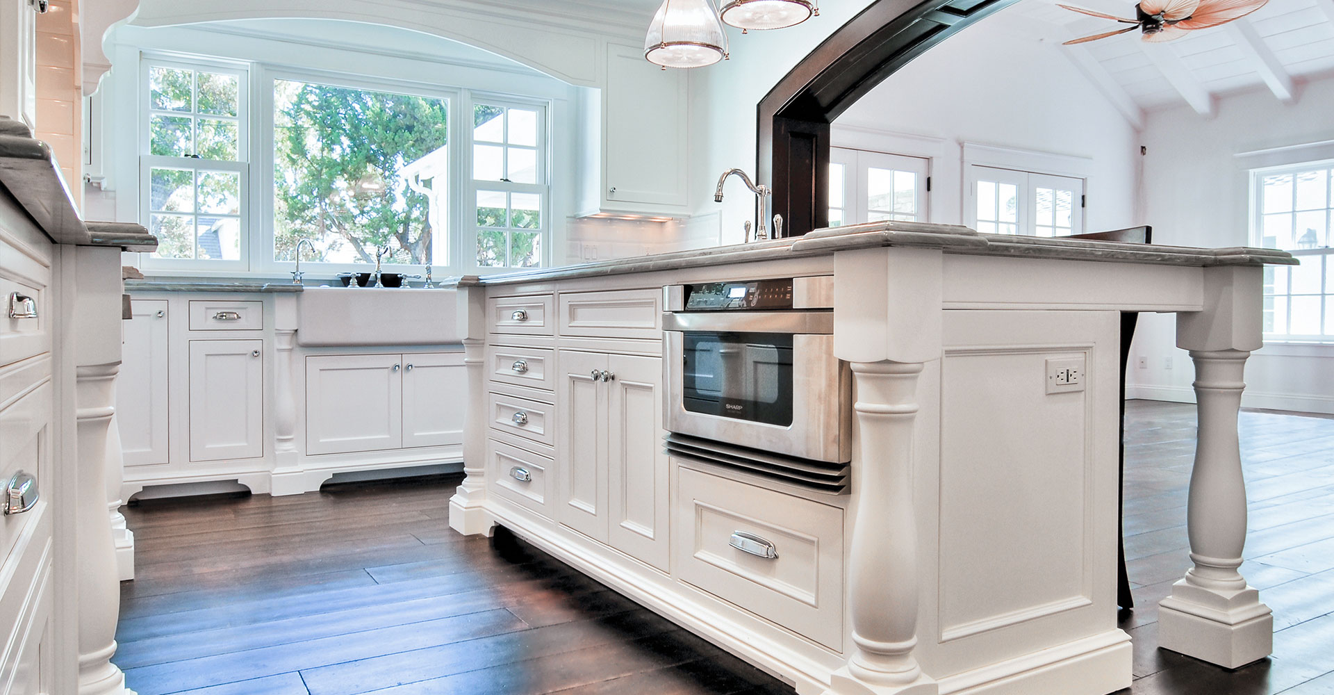Handcrafted Kitchen Fitucci Cabinets