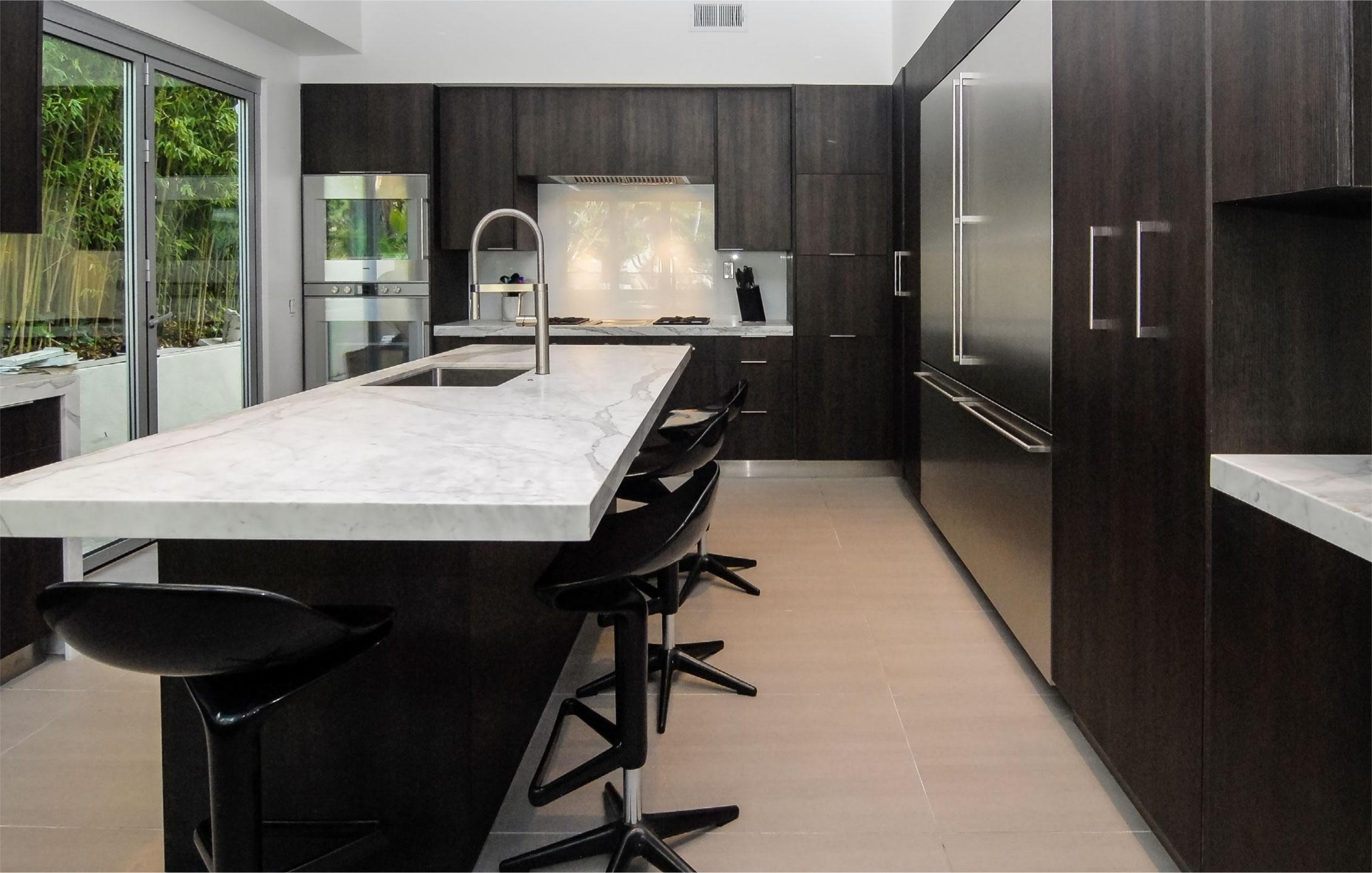 Fitucci Dark Custom Kitchen