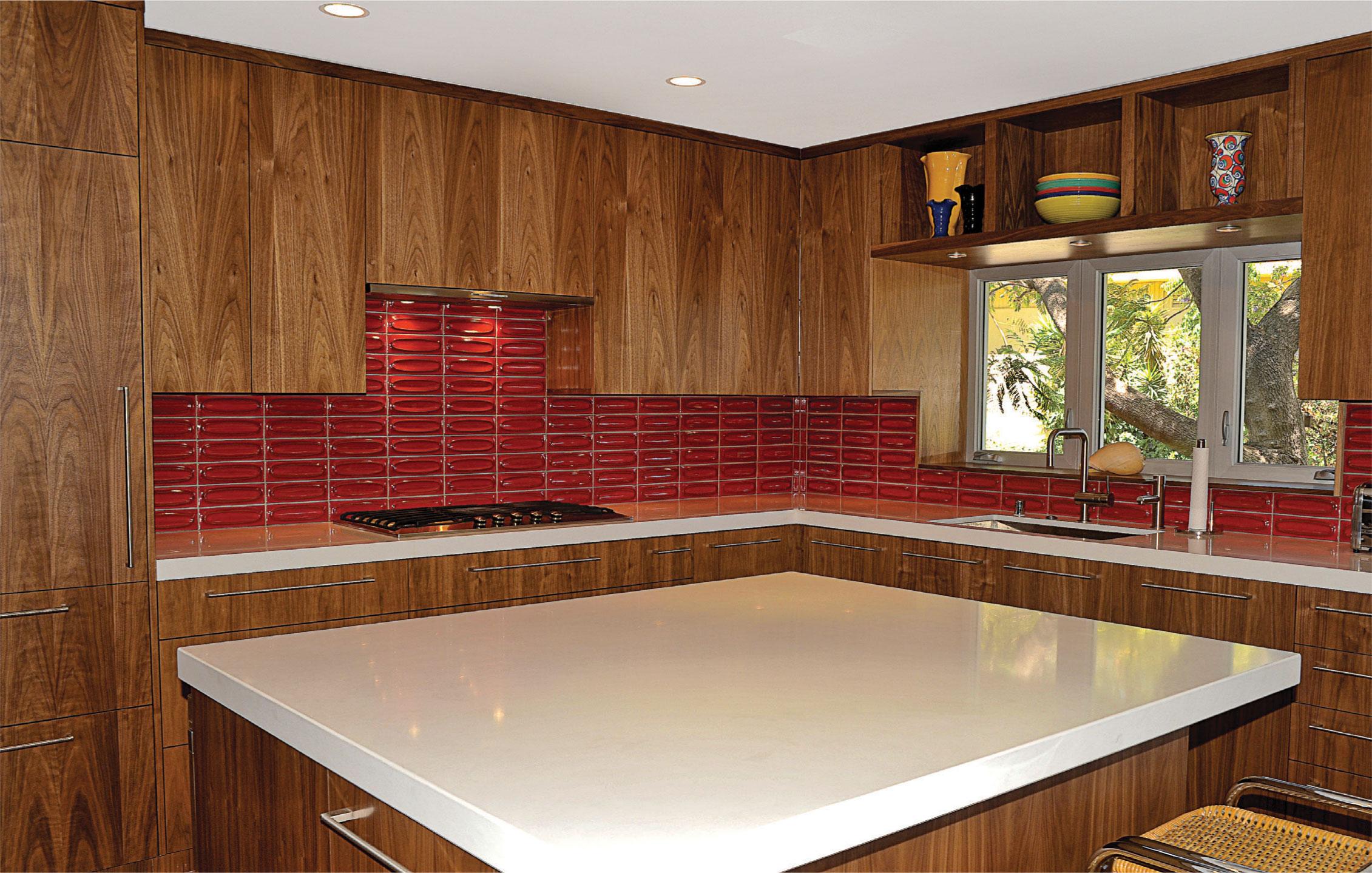 Retro Custom Kitchen Los Angeles