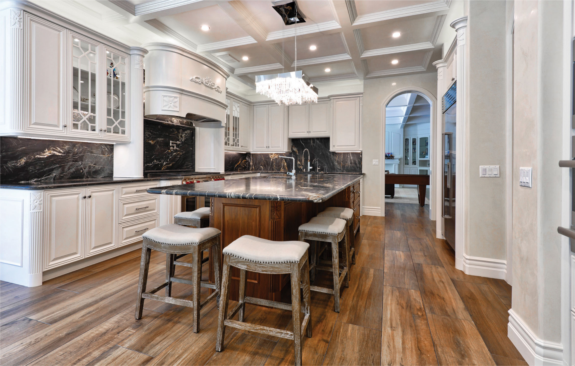 Elegant Custom Kitchen Los Angeles