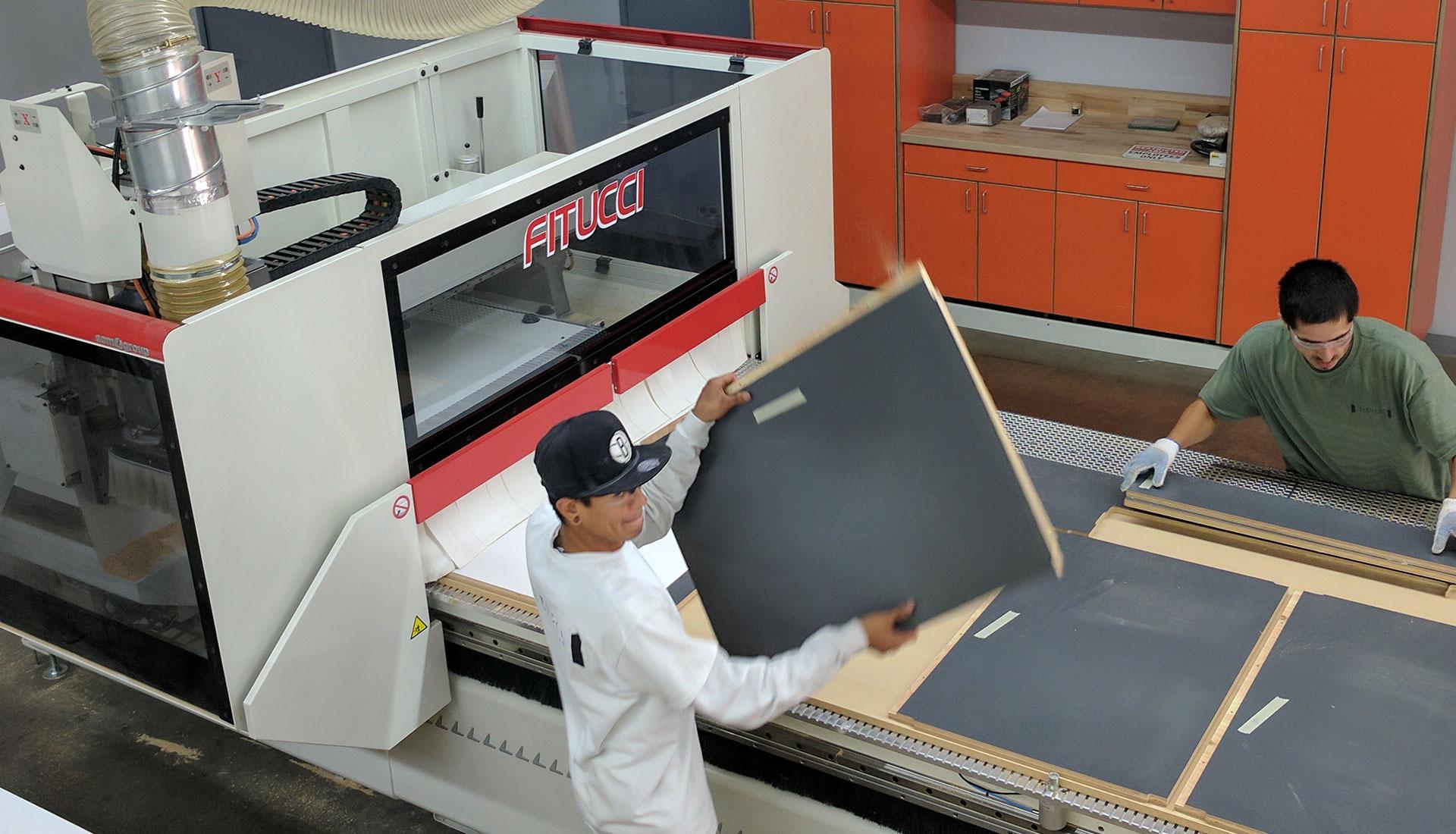 Fitucci Custom Cabinets Workshop