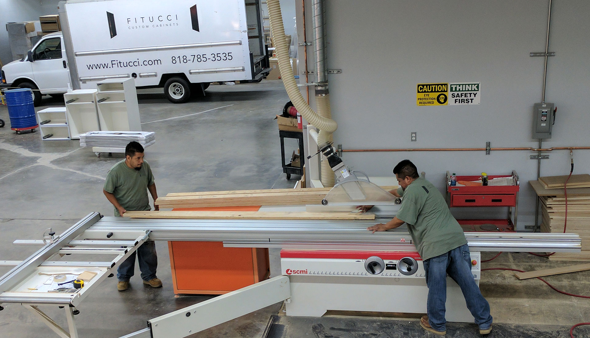 Fitucci Custom Cabinets Workshop