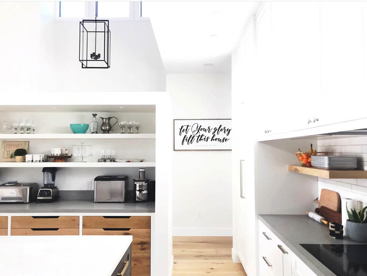 Fitucci Custom Cabinets - Los Angeles - photo of white custom cabinets on kitchen
